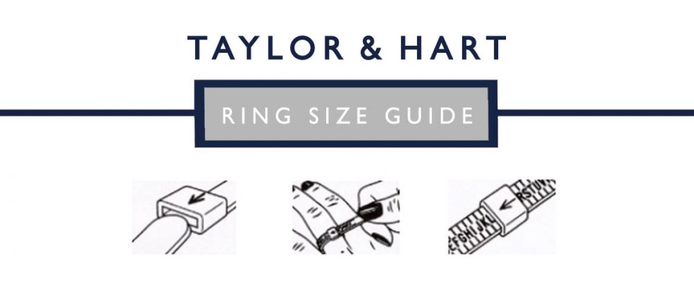 taylor and hart ring size guide