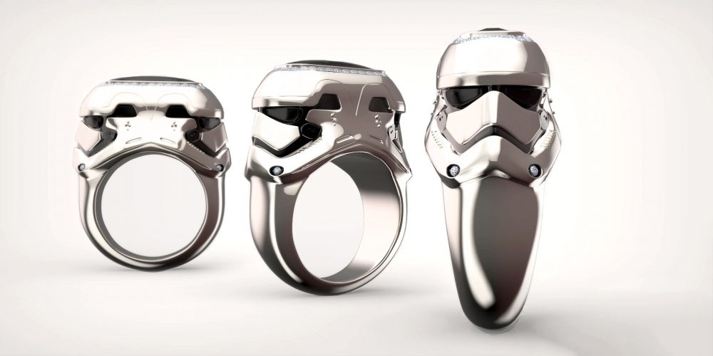 Stormtrooper star wars ring
