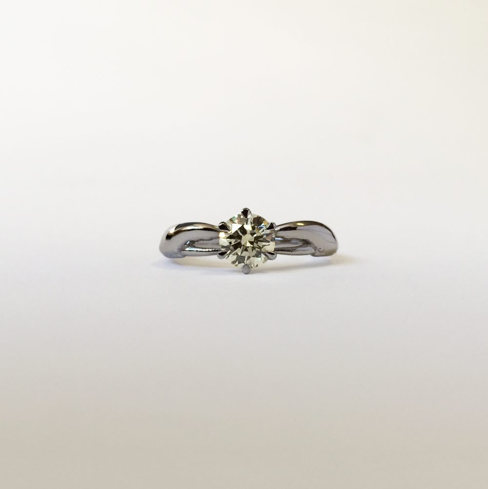 lobster engagement ring