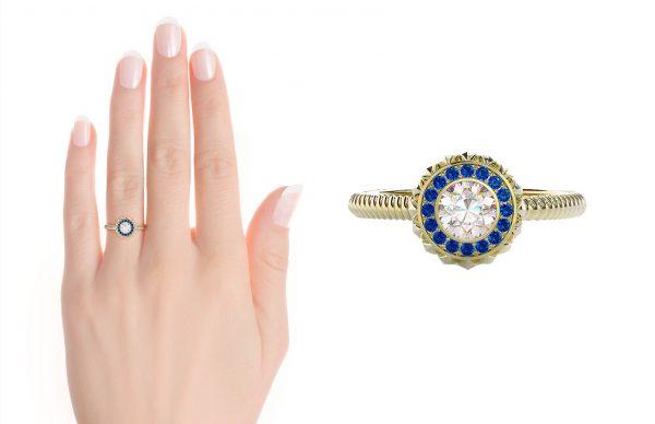 mary-kate olsen inspired engagement ring