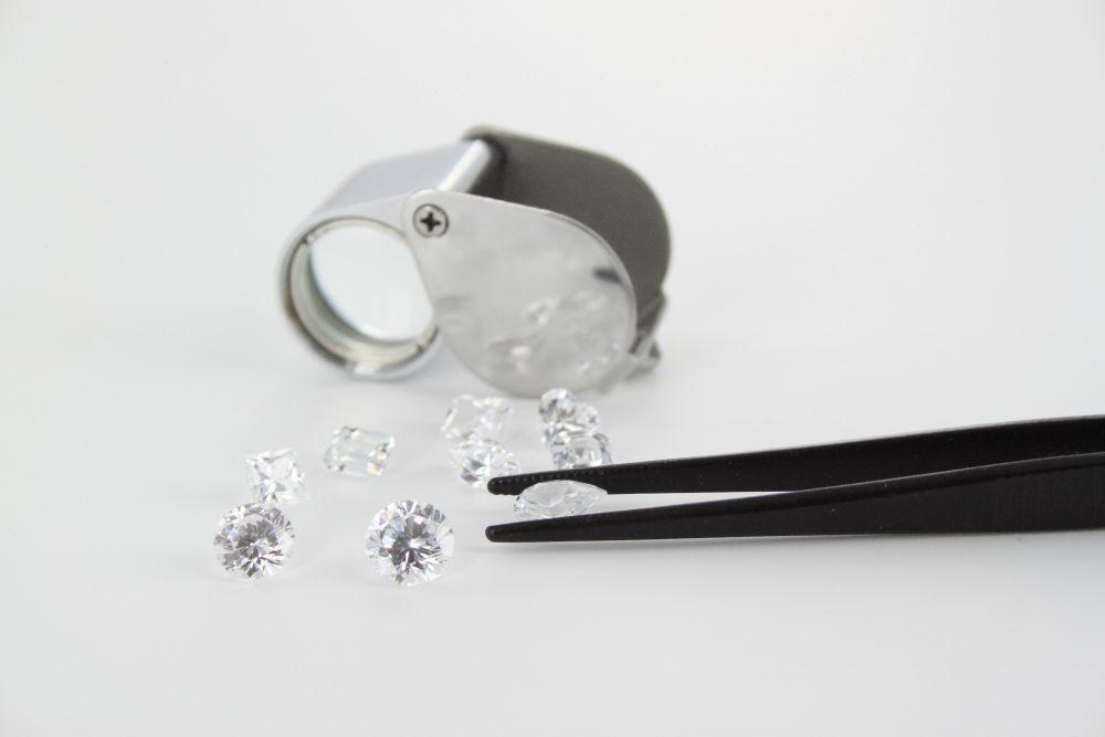 diamond inspection loupe