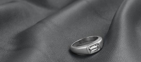 matte finished ring