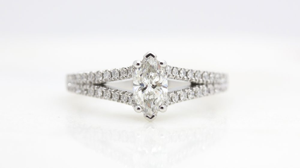 marquise-diamond-engagement-ring-with-pave-split-shank