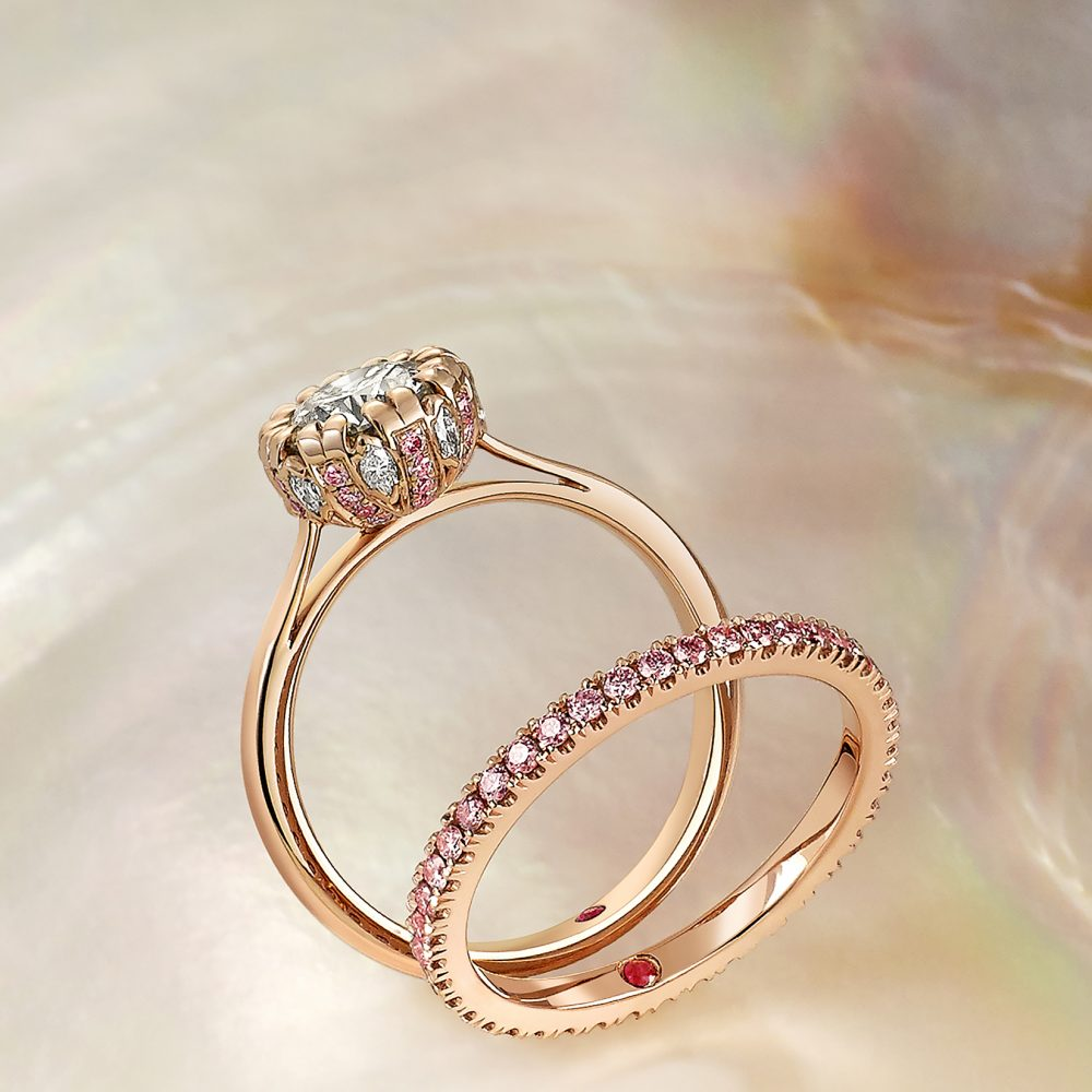Rose Gold Wedding Ring.Rose Gold Engagement Rings Taylor Hart