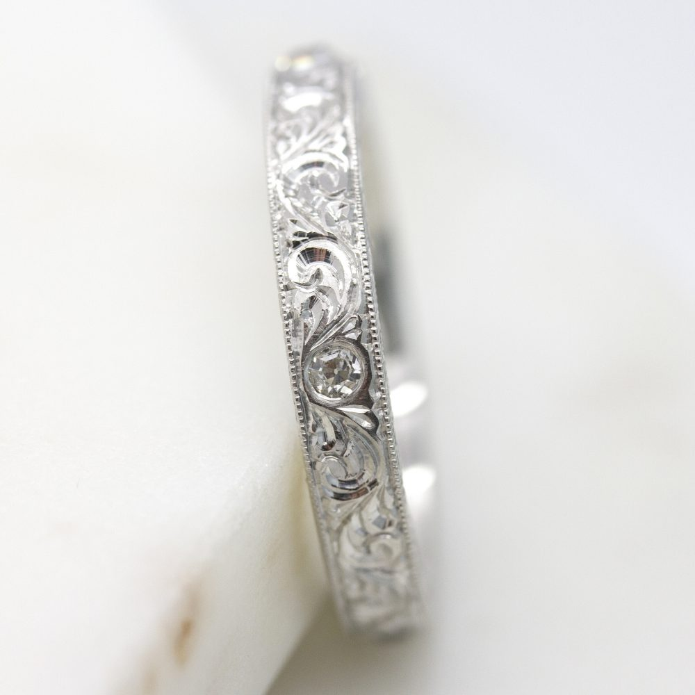 hand engraved wedding band2