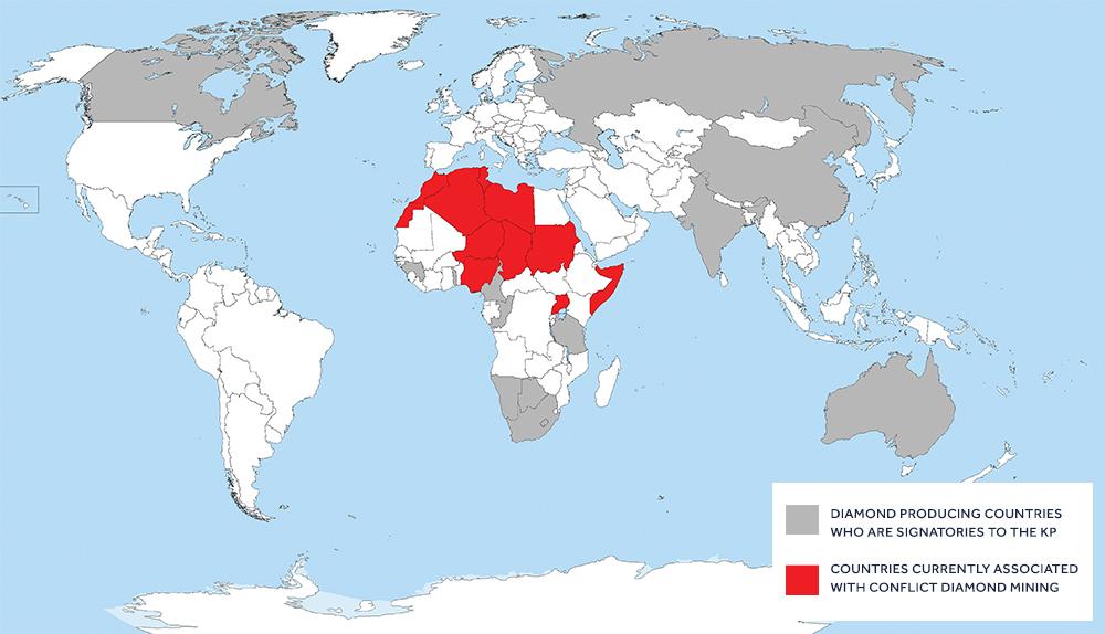 conflict diamond map