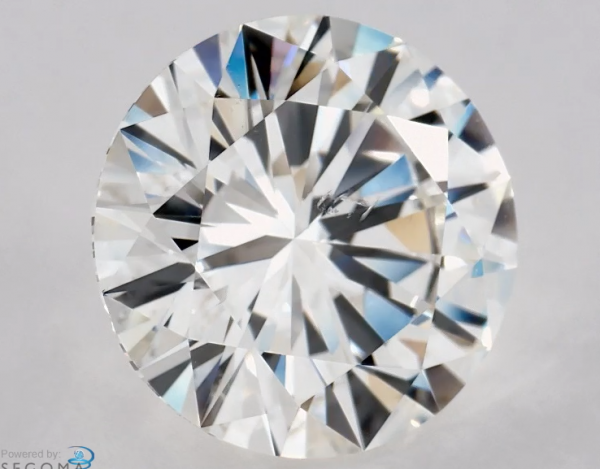 knot diamond inclusion
