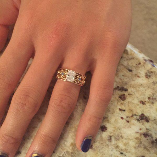 customer custom ring