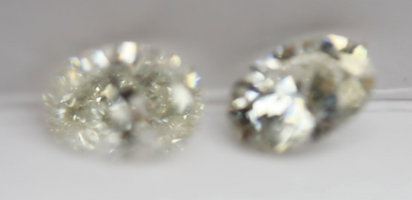 Diamond vs moissanite brilliance