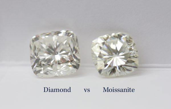 diamond vs moissanite