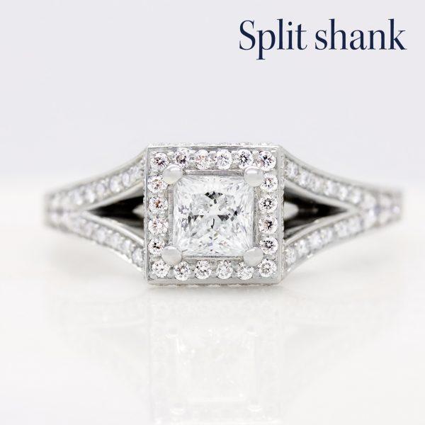 split shank