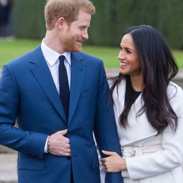 meghan markle prince harry engagement ring