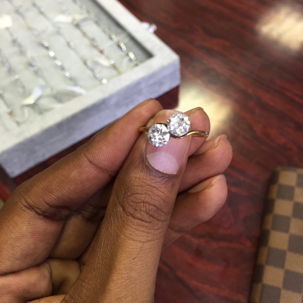 repurposing a family heirloom bespoke engagement ring design