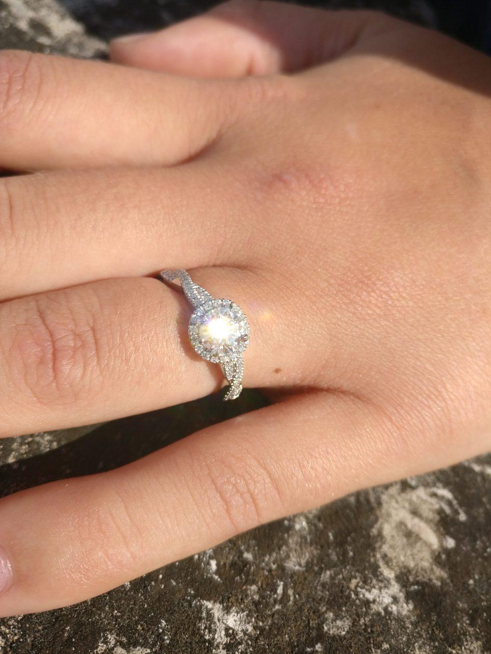 fairytale inspired engagement ring design