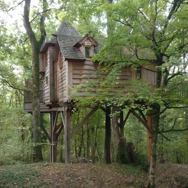 treehouse dordogne proposal