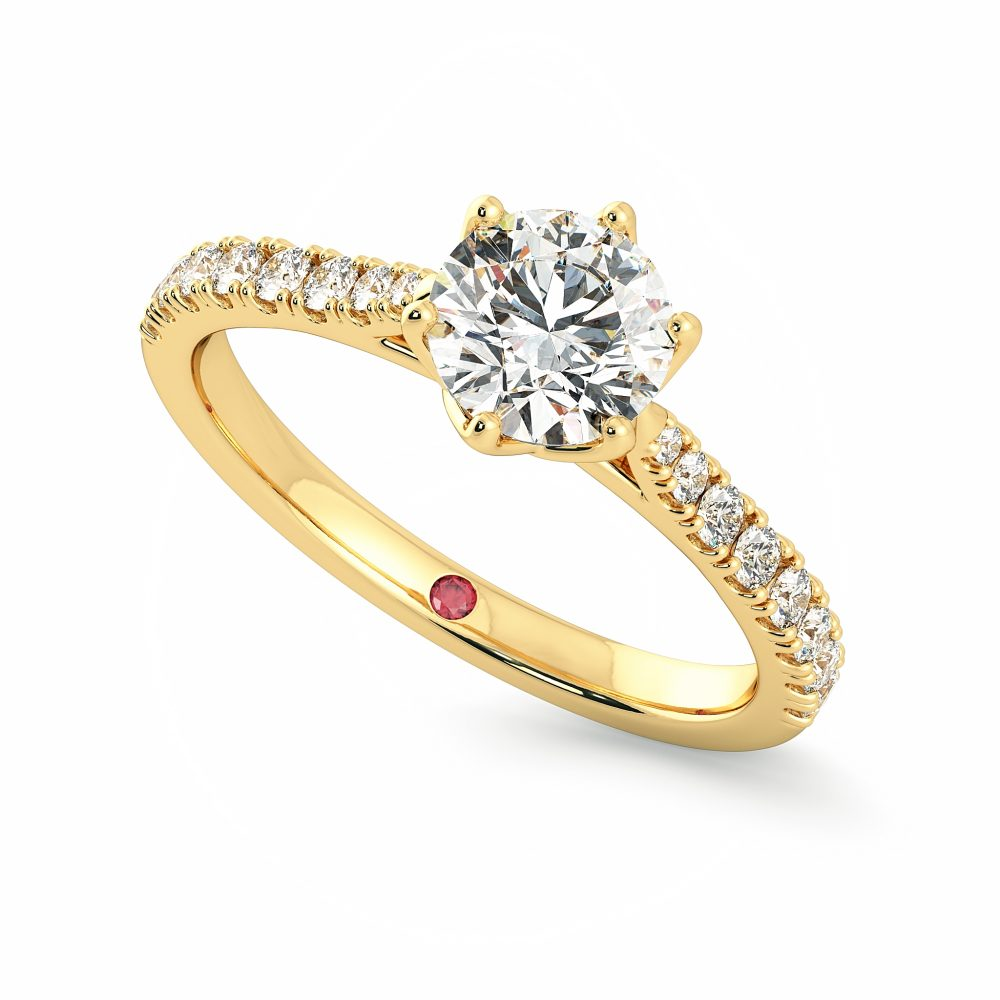 splendor collection engagement ring taylor and hart