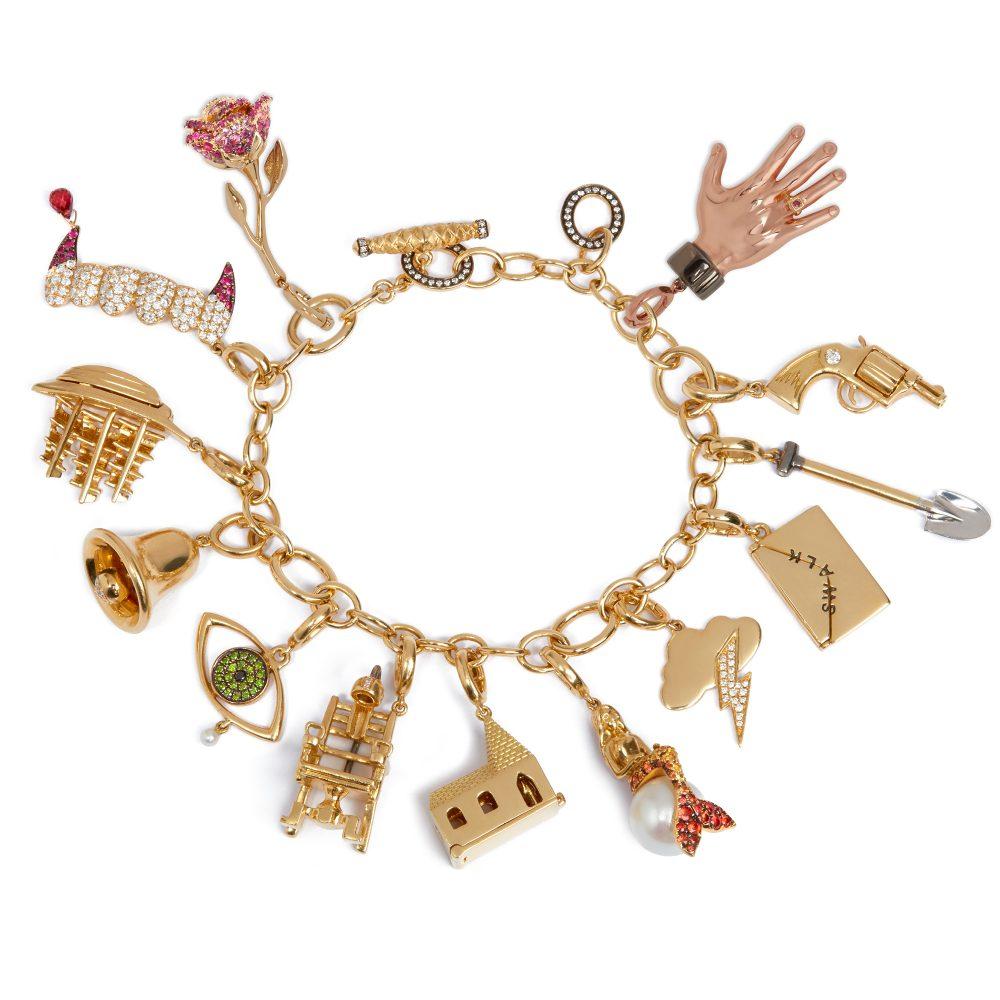 Annoushka X Vampire's Wife Charm Bracelet