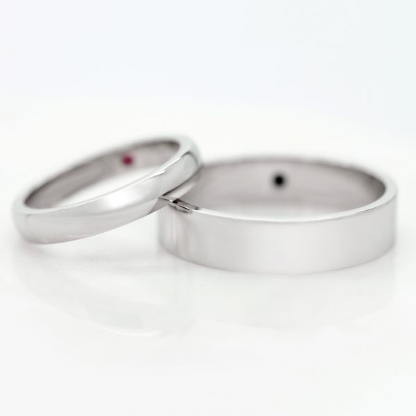 plain mens wedding bands