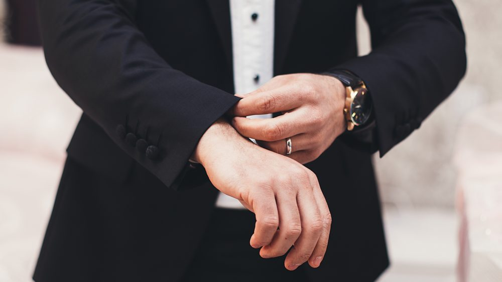 mens wedding watch