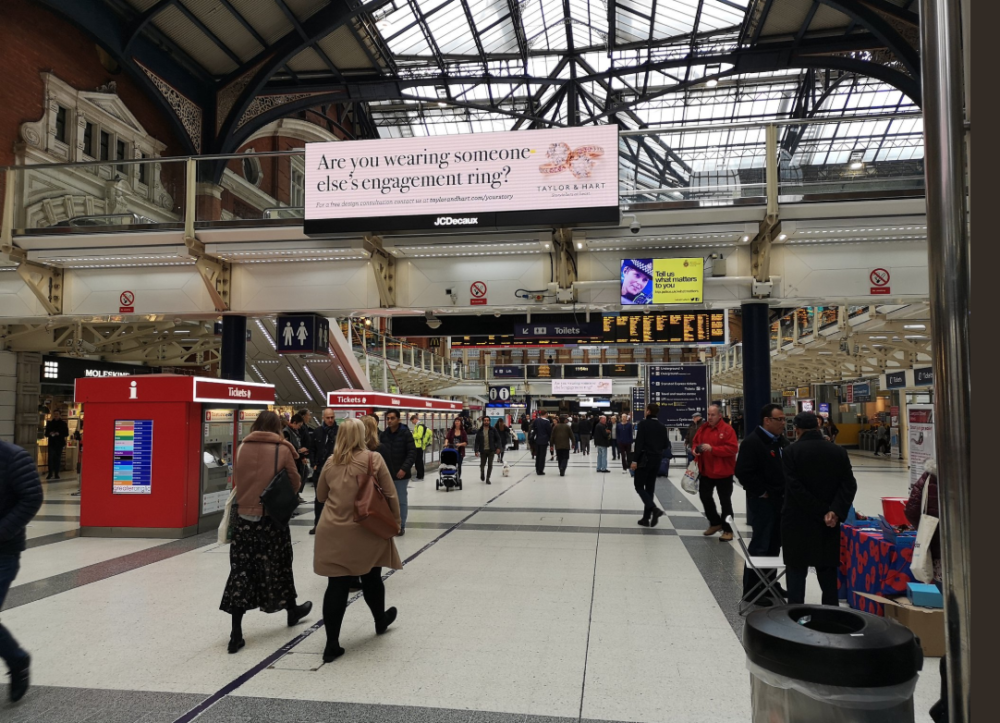 taylor and hart liverpool street campaign