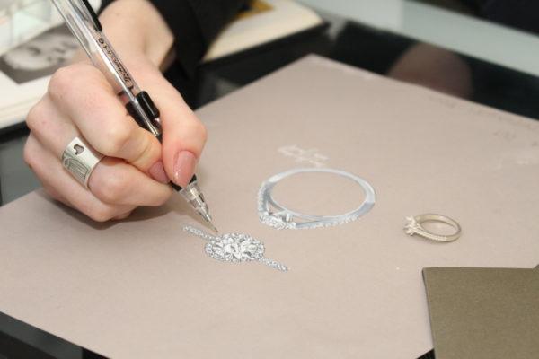 design consultant sketching