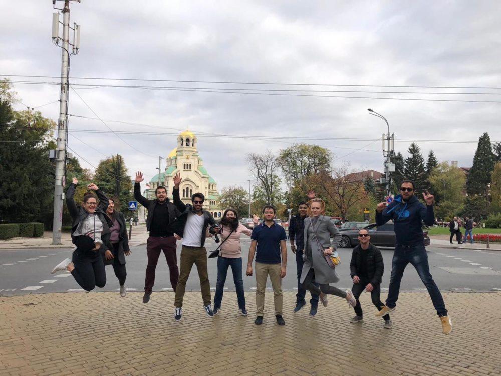 team tour
