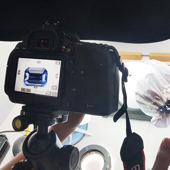 blue sapphire photograph