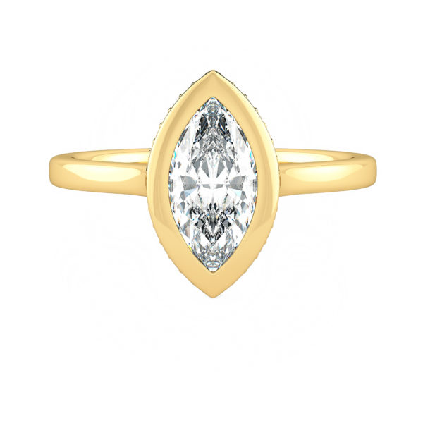 Sirius Marquise Yellow Gold