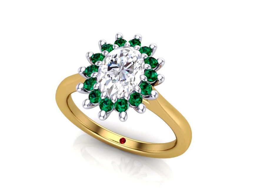3D printing, Bespoke engagement ring, Taylor and Hart