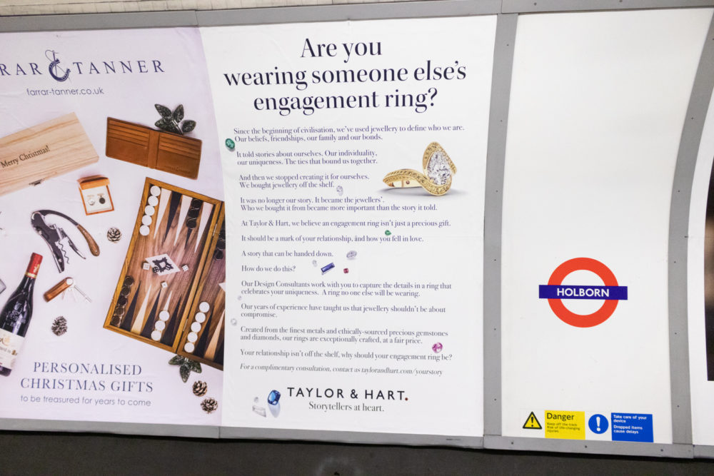Taylor and Hart Tube Campaign