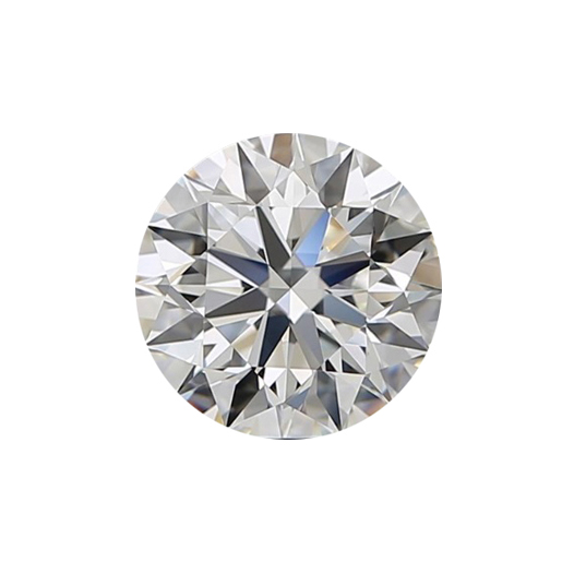 round brilliant lab grown diamond