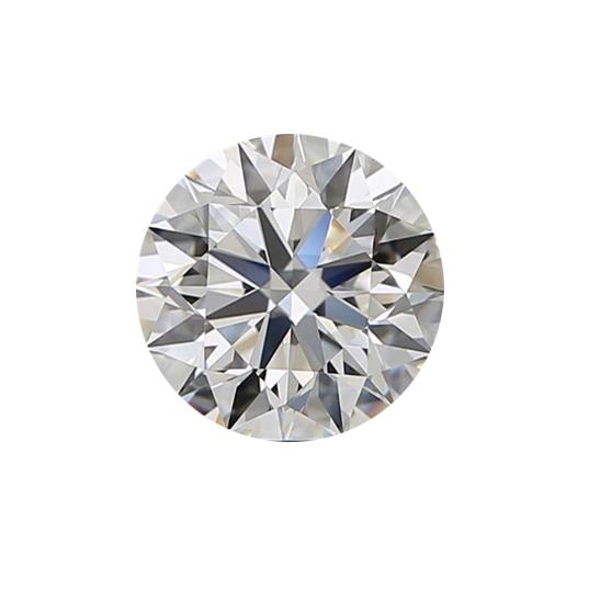 round brilliant lab grown diamond